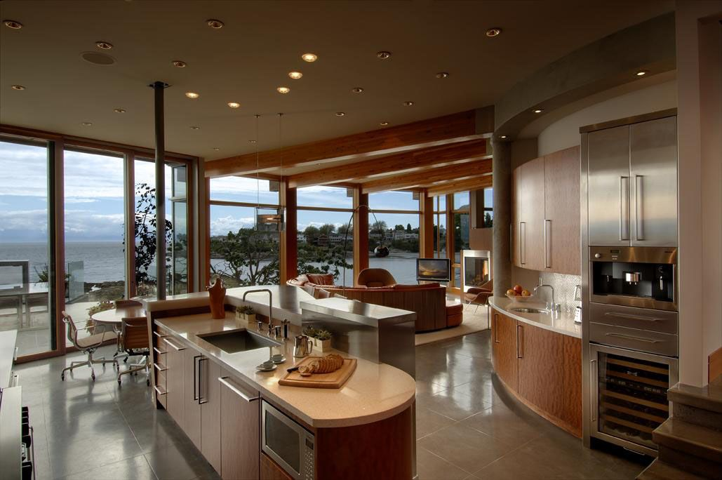 Idesignarch Wp Content Uploads Victoria BC Modern Beach House 4