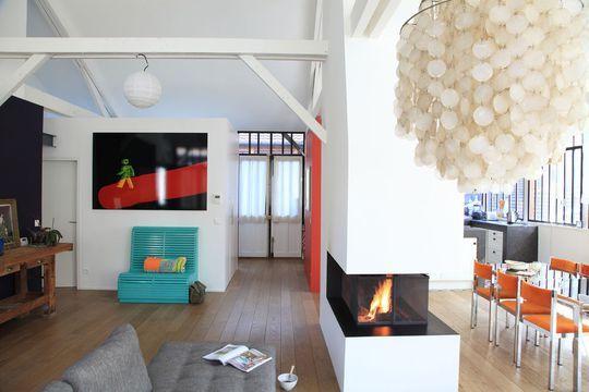 Rénovation loft  une ancienne tannerie fait peau neuve Salons - renovation maison ancienne photos