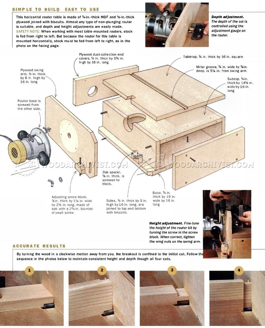 Build horizontal router table router table woodworking and router jig build horizontal router table router keyboard keysfo Image collections
