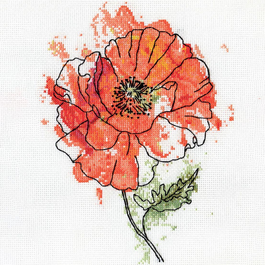 Jetzt Neu Florale Motive Wie Gemalt Stickbilder In Aktueller Watercolor Optik Die Gestickten Kon Gezahlter Kreuzstich Kreuzstichblumen Kreuzstichmuster