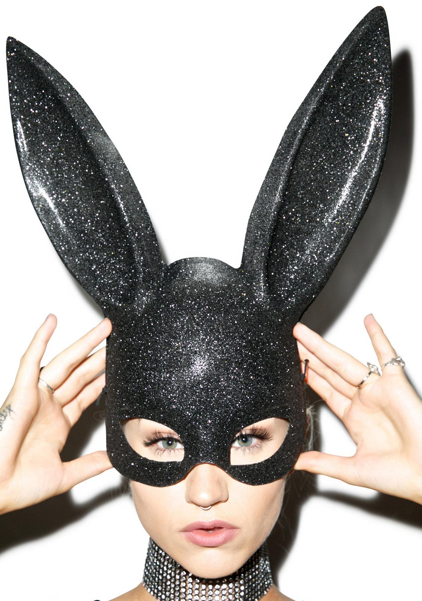 Glitter Gettin Busy Bunny Mask Bunny Mask Bunny And Masking