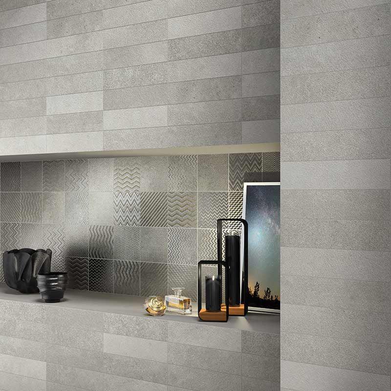 gazzini Essential Grey Dekor Steel 15 x 15 cm