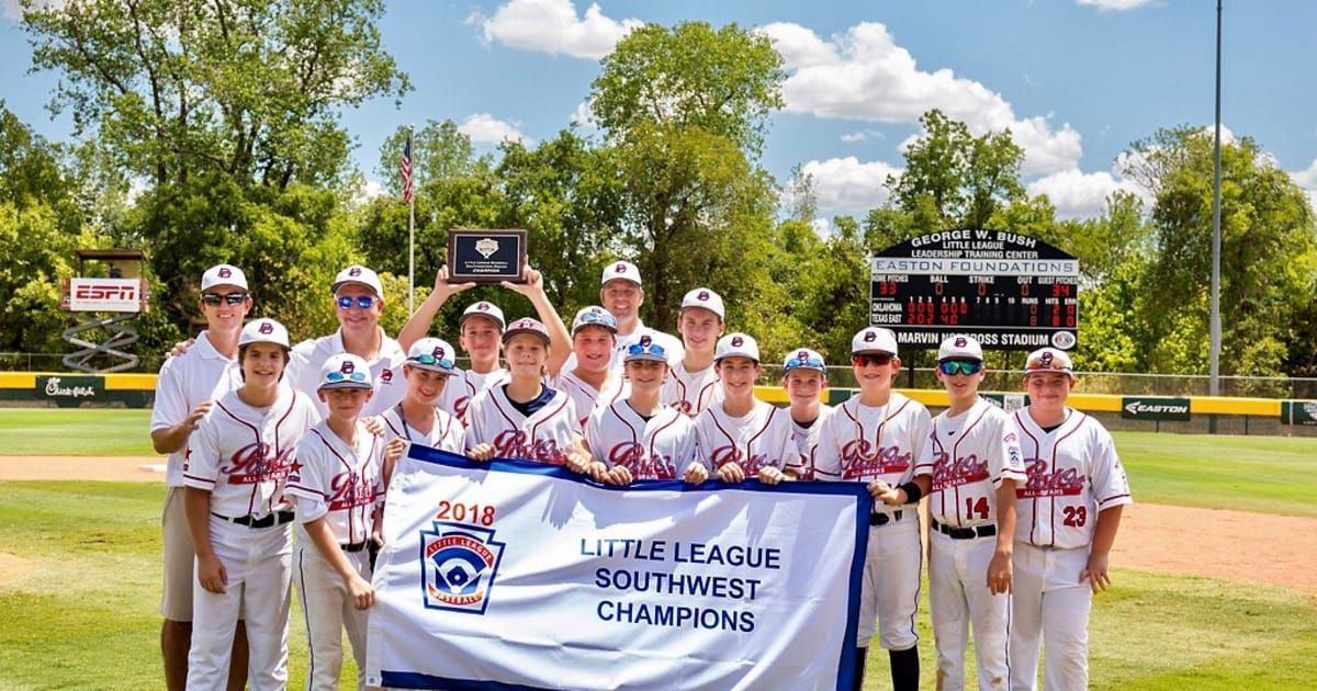 Post Oak Little League From Houston Texas Captured The 2018 Southwest Regional Championship By Defeating Tulsa Na Little League Little League Baseball League