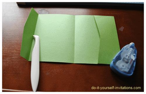 Make Your Own Pocket Fold Wedding Invitations  Wedding Ideas