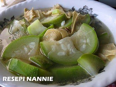 Resepi Nannie Tumis Labu Air Confinement Food Food Recipes
