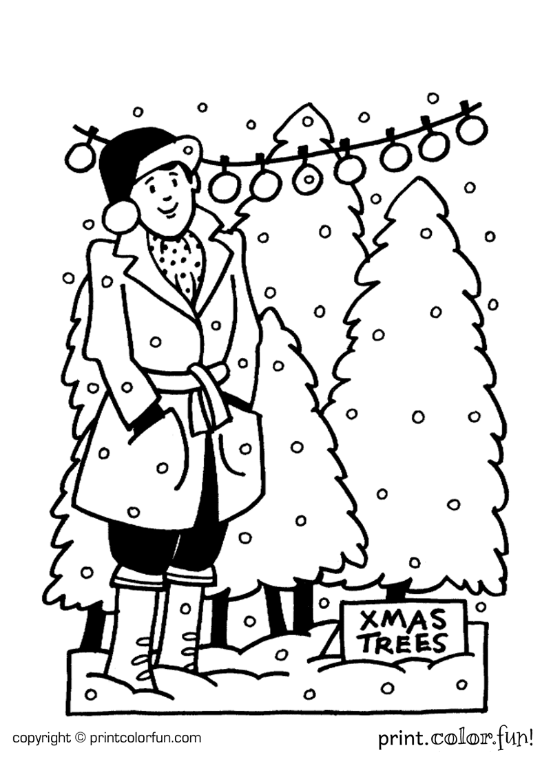 Download And Print Your Page Here Christmas Tree Coloring Page Christmas Coloring Pages Printable Christmas Coloring Pages [ 1100 x 800 Pixel ]