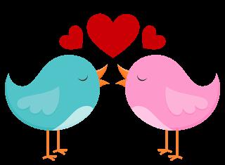 Ideas Y Material Gratis Para Fiestas Y Celebraciones Oh My Fiesta Clipart De Animalitos Enamorados Para Pajarito Dibujo Dia De San Valentin Dibujos De Pajaro