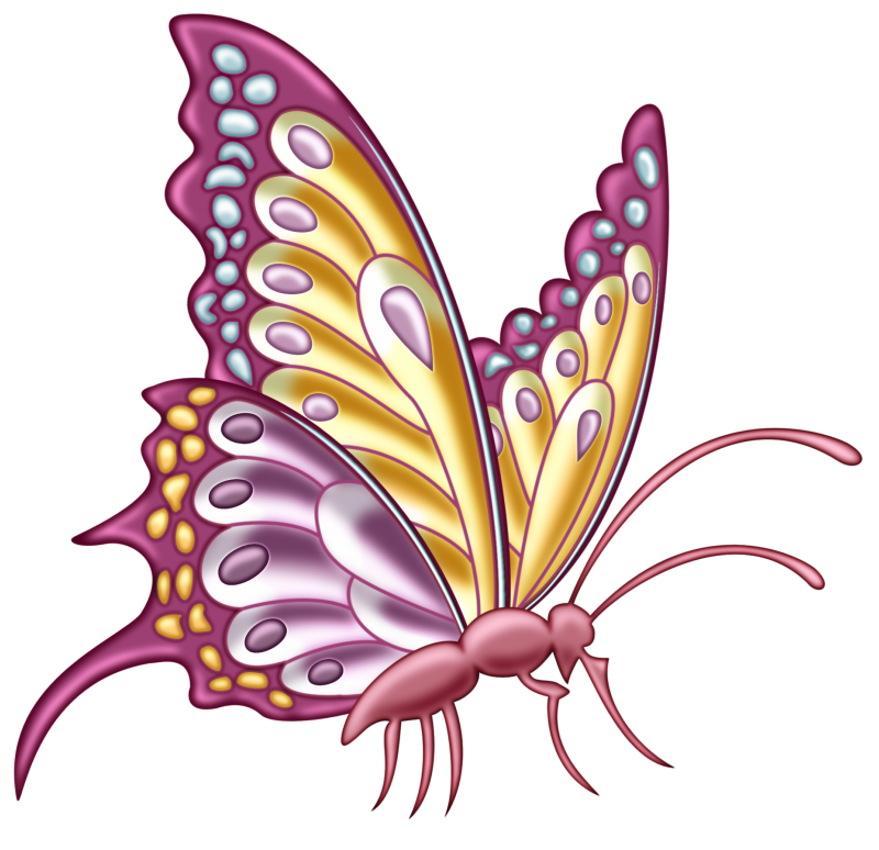 pps sal14 png butterfly clip art and decoupage rh pinterest co uk