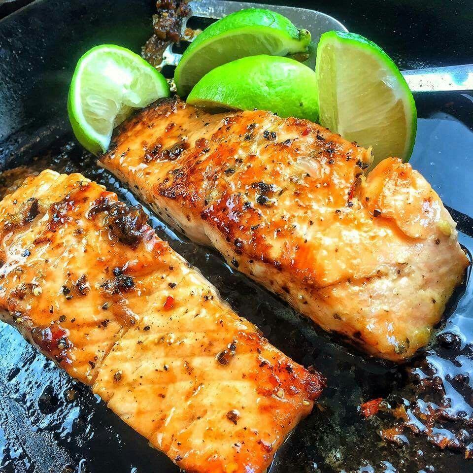 Garlic and Brown sugar Salmon