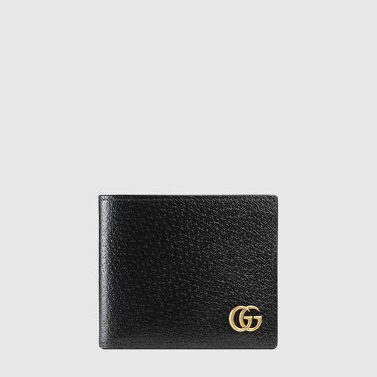 pretty nice d9aa2 0eac2 Portafoglio bi-fold GG Marmont in pelle | Bags | Leather ...