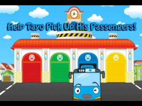 Tayo The Little Bus Driving Game Level 1 In 2020 Educational Games For Kids Free Educational Games Games For Kids