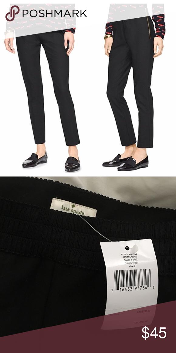 Kate Spade Stretch Leggings Kate Spade Stretch Leggings                                                         Slim fit.                                                                                               70% polyester 26% viscose 6% elastane kate spade Pants Skinny