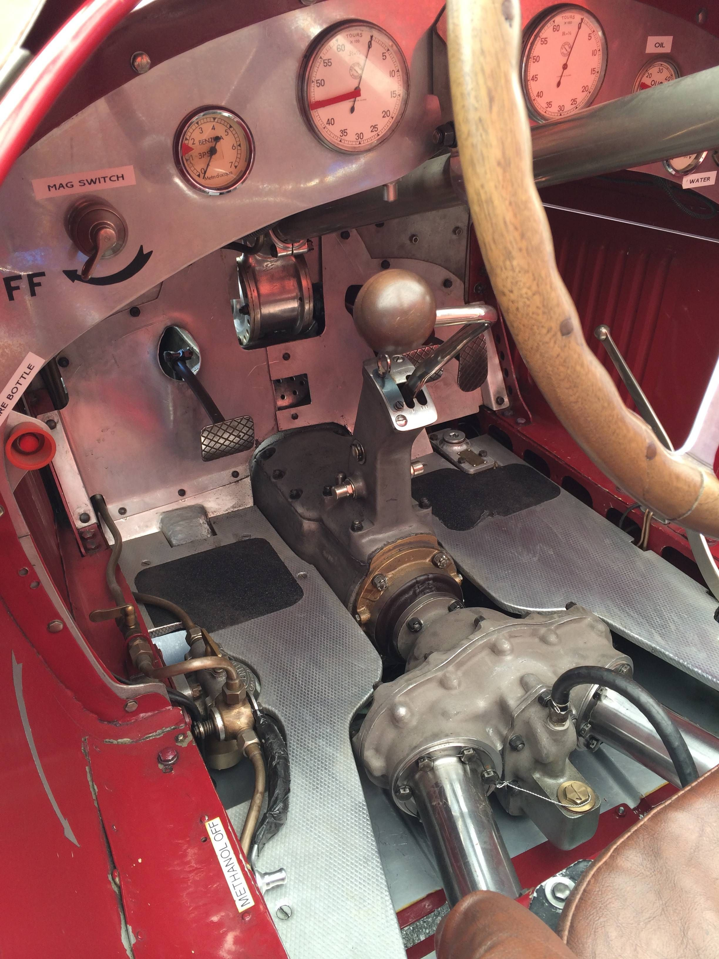 Cockpit detail of a 1934 Alfa Romeo Tipo B (P3) Raced by Scuderia Ferrari [OC][2448x3264]