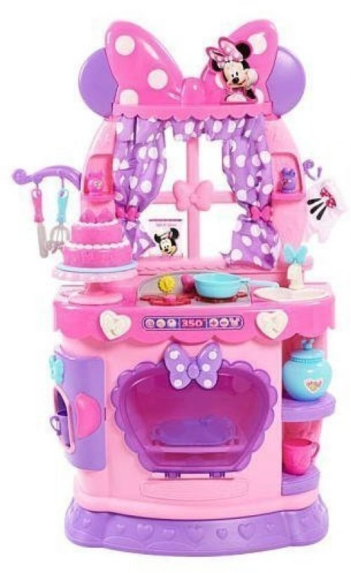 Girls Playset Minnie Mouse Kitchen Boutique Set Toy Sweet Surprises ...