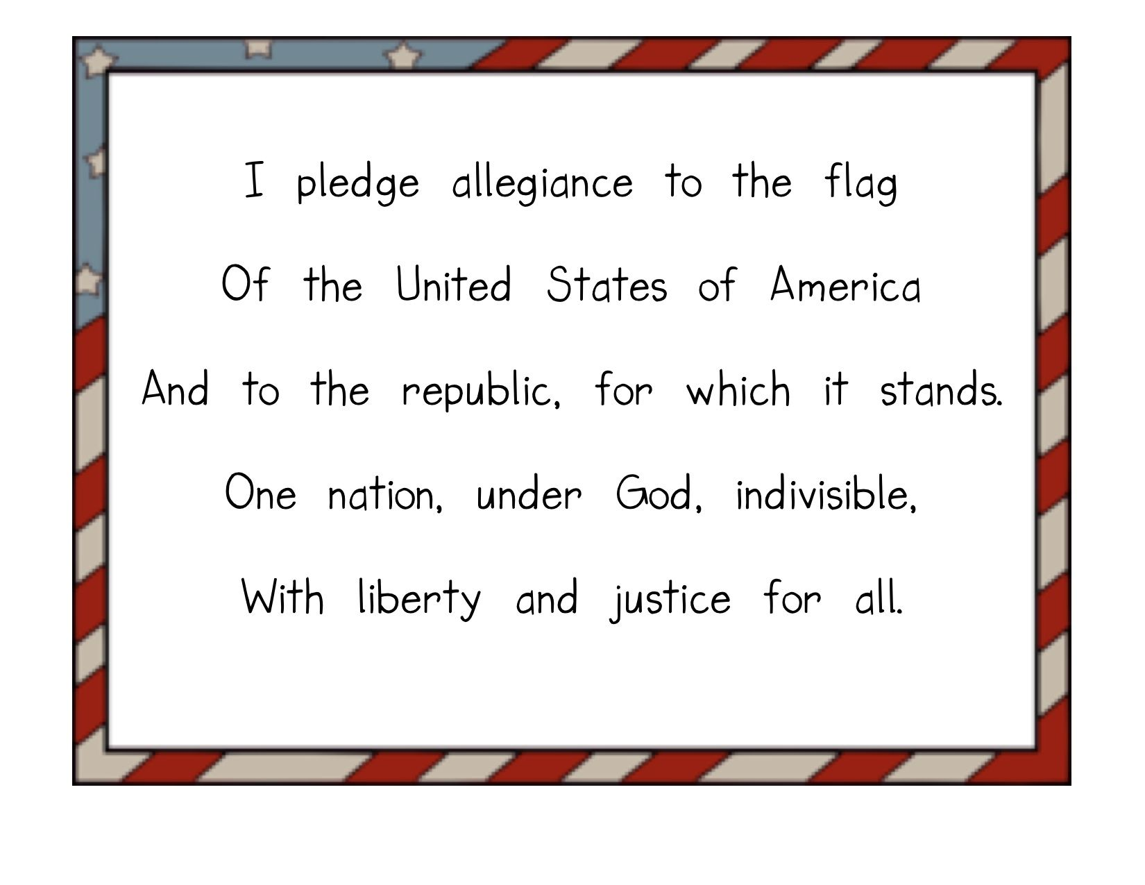 Adult Top Pledge Of Allegiance Coloring Page Images cute 1000 images about kindergarten celebrating freedom on pinterest images