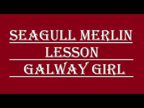 Seagull Merlin Lesson Galway Girl Merlin Pinterest Acoustic