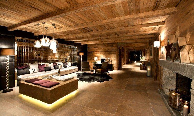 D coration int rieur chalet montagne 50 id es inspirantes chalet montagne chalet et - Decoration chalet interieur ...