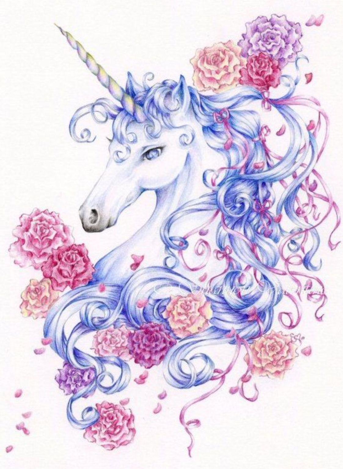 Einhorn Bilder Zum Ausdrucken Bunt : einhorn, bilder, ausdrucken, Unicorn, Einhorn, Zeichnen,, Einhorn-tattoos,, Bilder