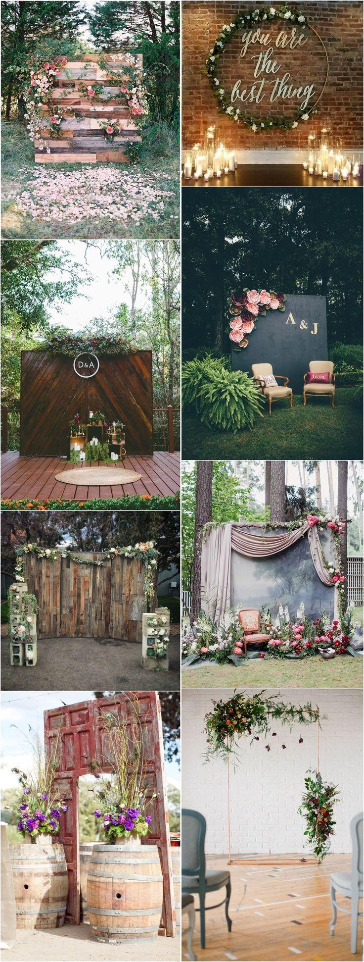 Unique Wedding Ideas Wedding Backdrop Ideas Http Www Deerpearlflowers Com We Vintage Wedding Backdrop Diy Wedding Backdrop Wedding Reception Centerpieces