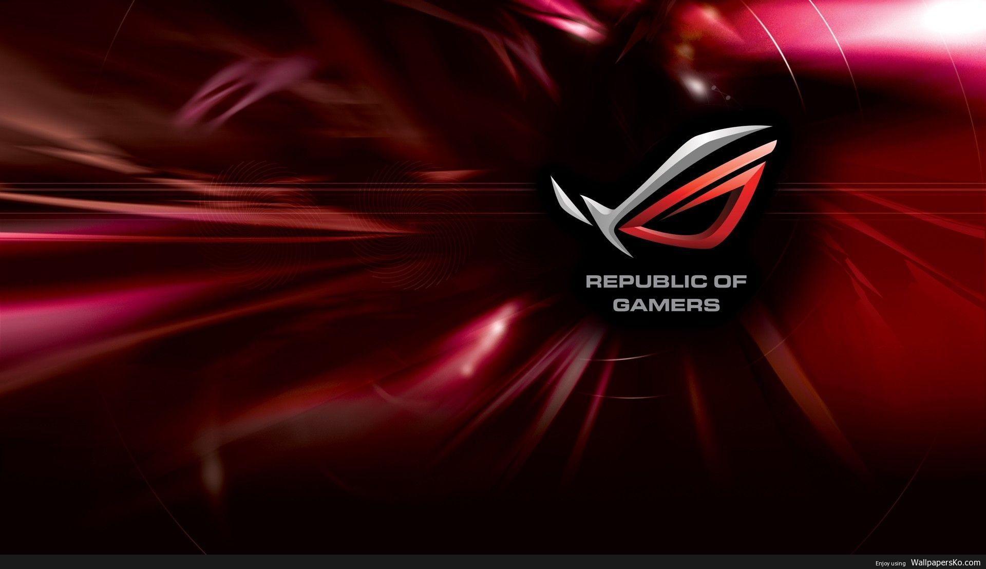 Republic Of Gamers Wallpaper 1920x1080 Hd Http Wallpapersko Com Republic Of Gamers Wallpaper 1920x1080 Hd H Pc Desktop Wallpaper Gaming Wallpapers Asus Rog