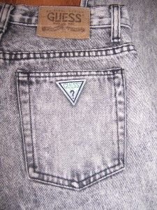 Guess stonewashed jeans