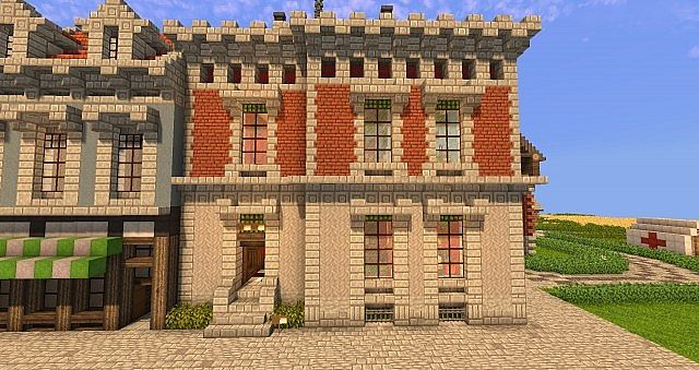 The Reichenhall Palais. ~ 1871 ~ Minecraft Project