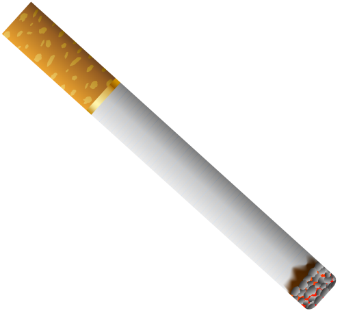 Cigarette with Filter PNG Clipart |