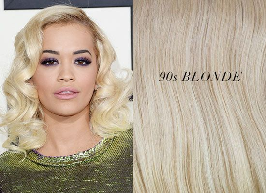 Blonde Hair Extensions Shades Inspirations from Celebrities ...