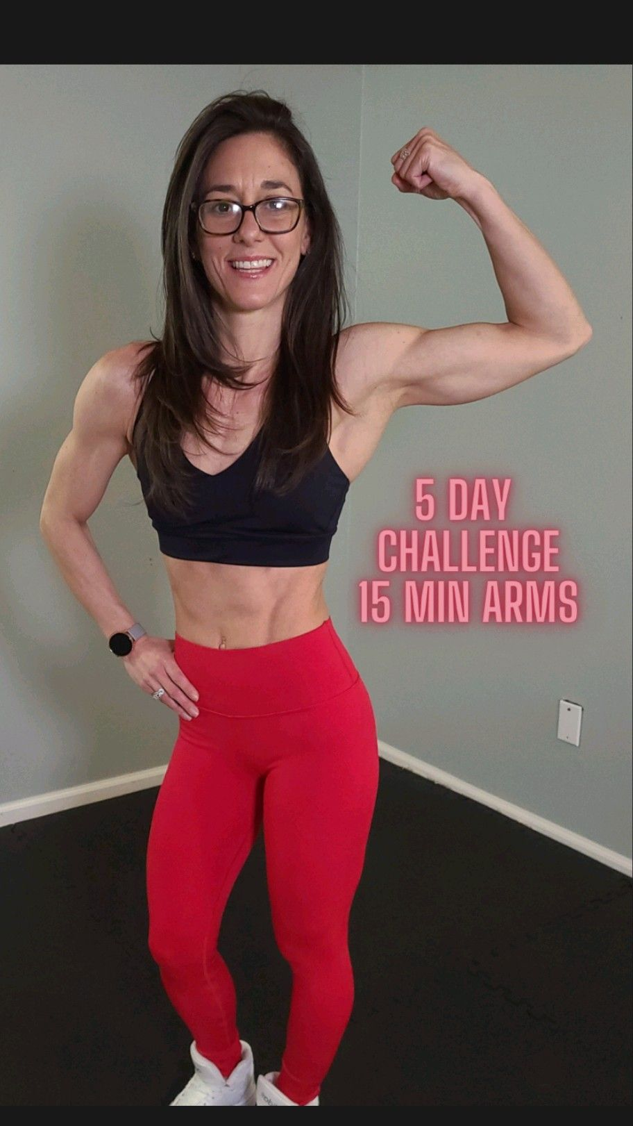 5 Day Workout Challenge at Home workout by Fit Tiff on YouTube