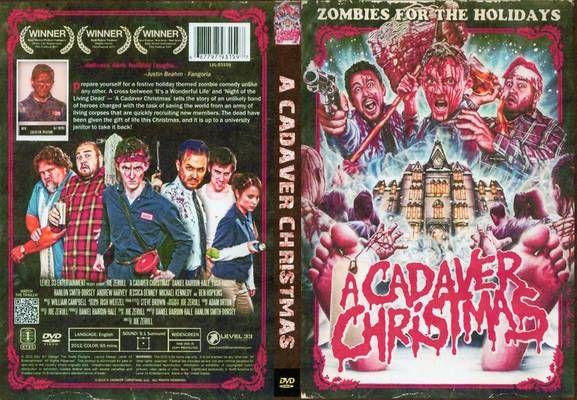 dad loves movies a cadaver christmas giveaway - A Cadaver Christmas