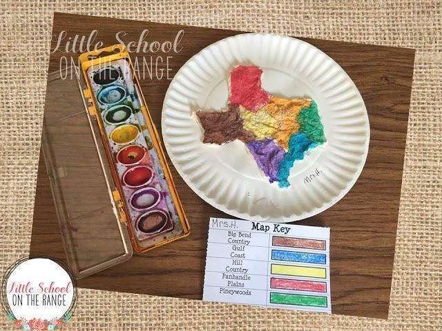 salt map of texas Salt Dough Maps Salt Dough Projects Salt Dough Texas History Projects