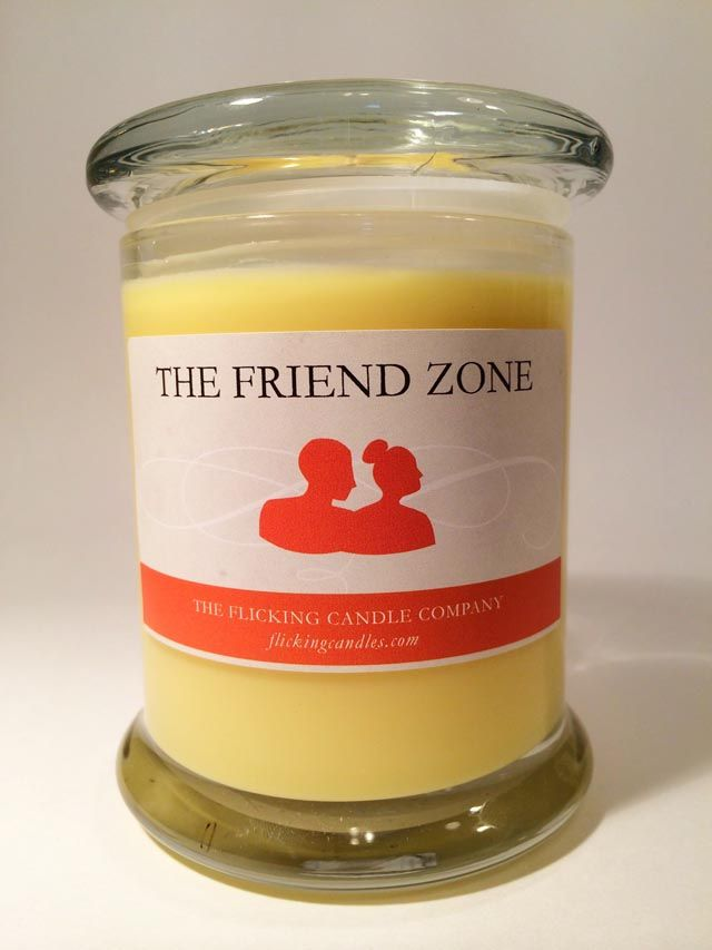The Friend Zone | Realistic candles, Funny candle scents ...