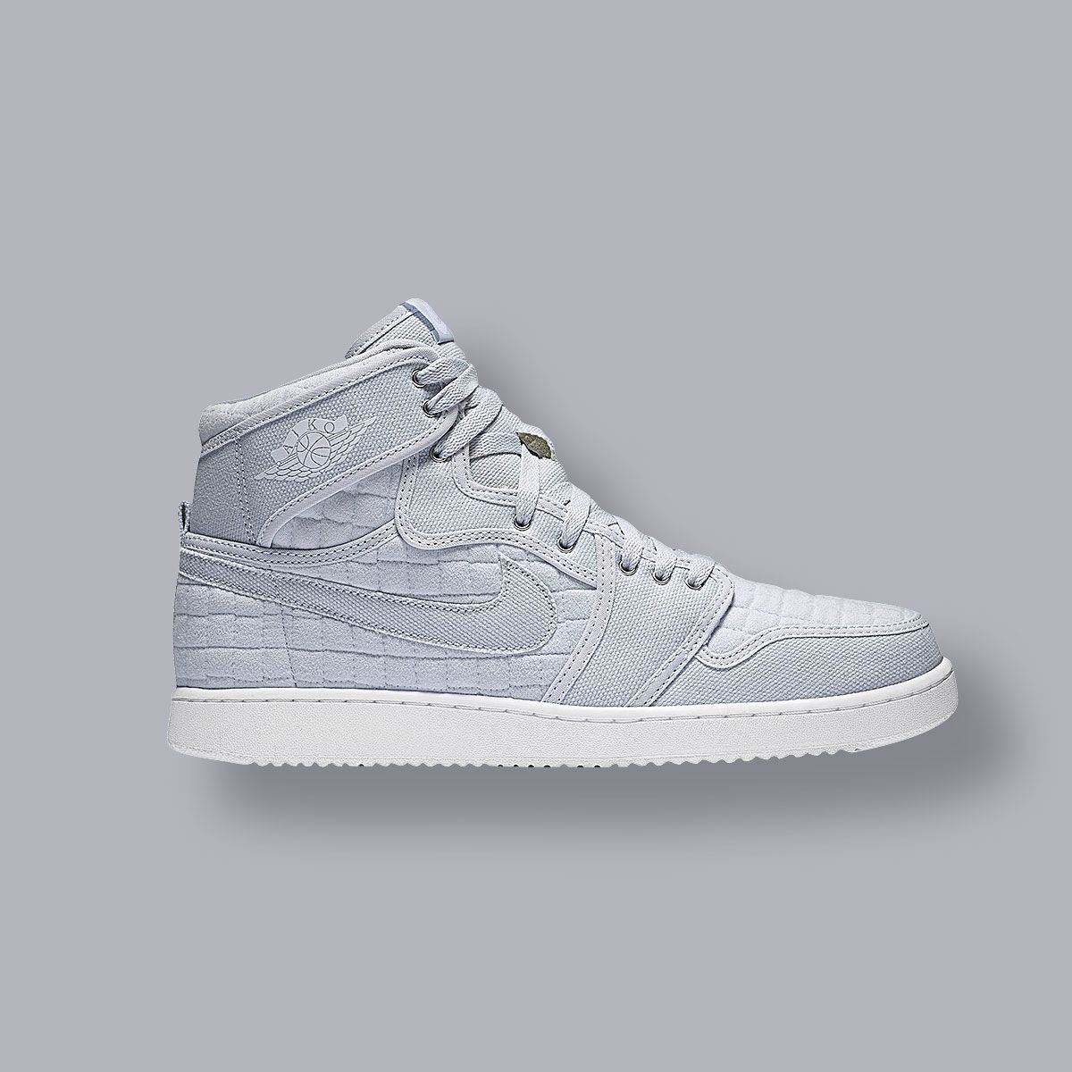 A New Twist On Classic Sneaker The Air Jordan 1 Ko Pure Platinum It Features Quilted Pattern Get Today