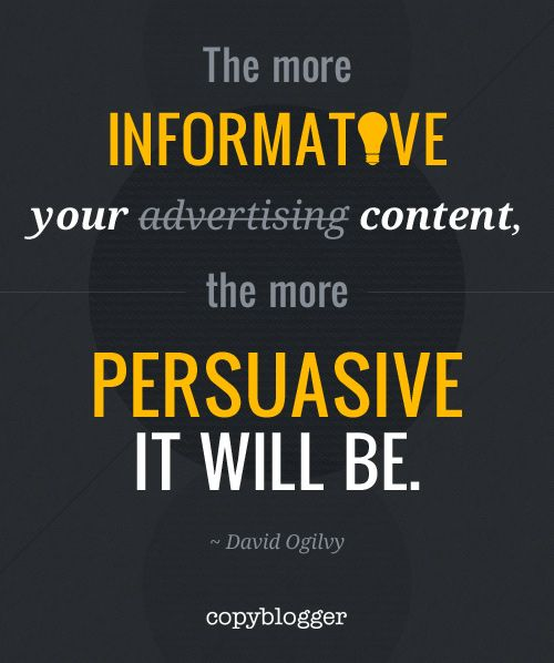 Famous Quotes With A Twist: The More Informative Your Content