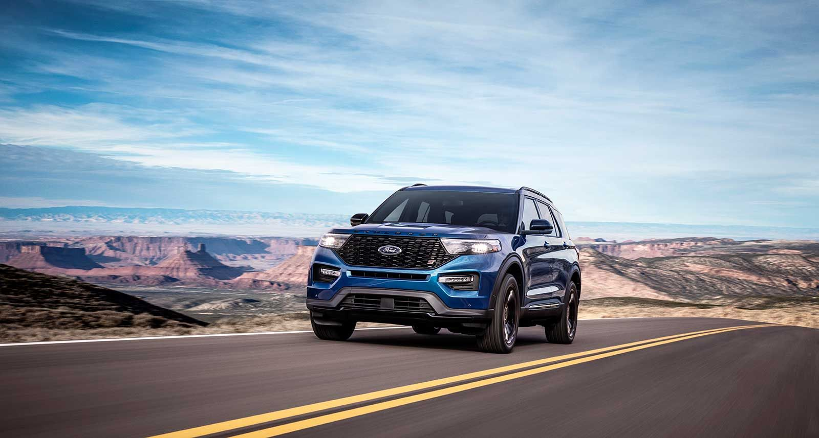 2020 Ford Explorer Gains High Performance St And Fuel Sipping Hybrid Models Ford Explorer 2020 Ford Explorer Ford