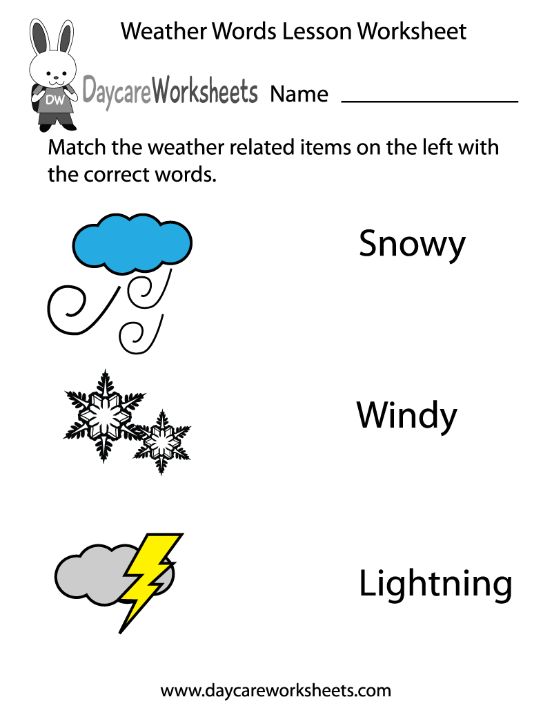 worksheet Weather Worksheets For Kindergarten 1000 images about preschool weather worksheets and activities on pinterest lessons rain