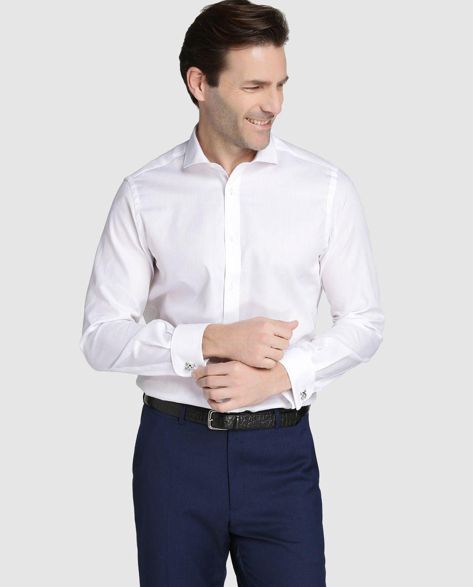 9d8e705ff56 Camisa de hombre Dustin classic lisa blanca · Dustin · Moda · El Corte  Inglés