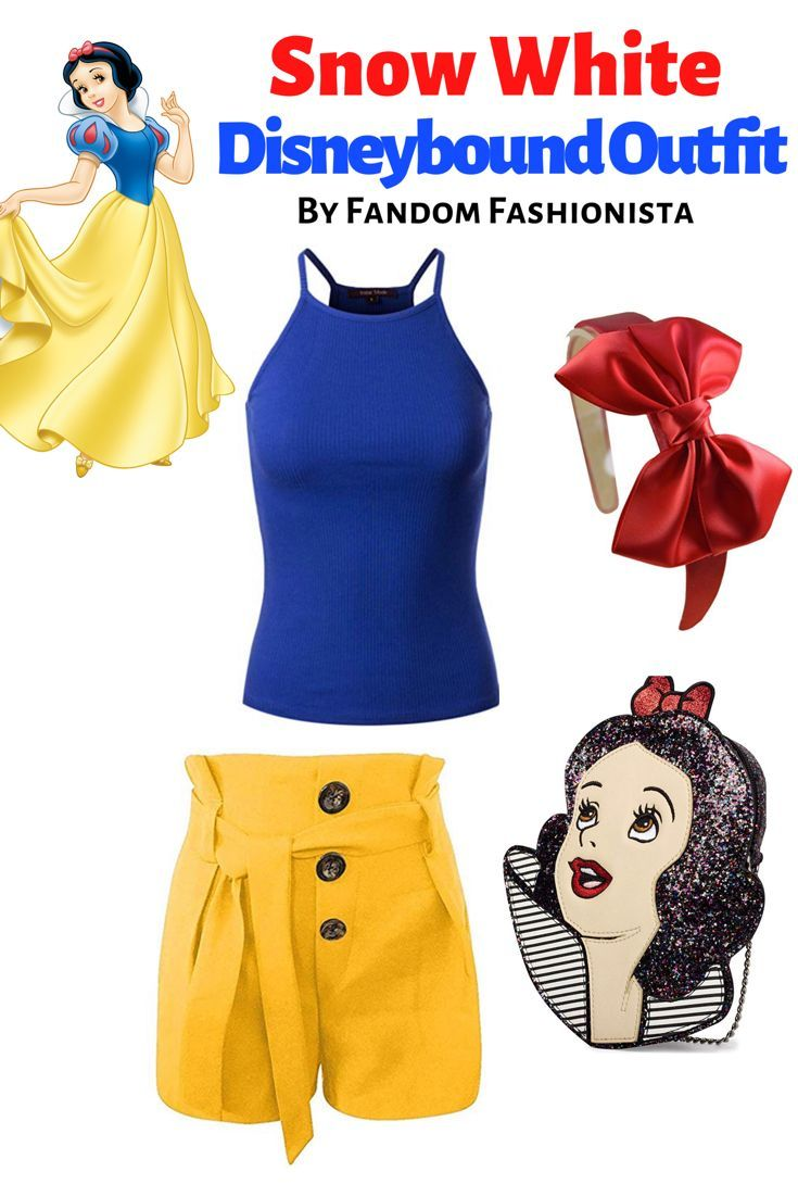 Looking for a cute Disneybound outfit idea? Check out this Snow White Disneybound outfit that's all on Amazon! #disneybound #disneybounding #disneystyle #snowwhite
