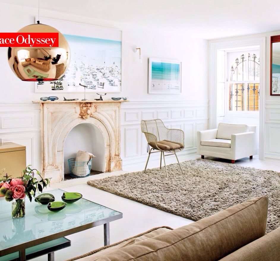 Living room - Robert Geller\'s Brooklyn townhouse in Vogue November ...