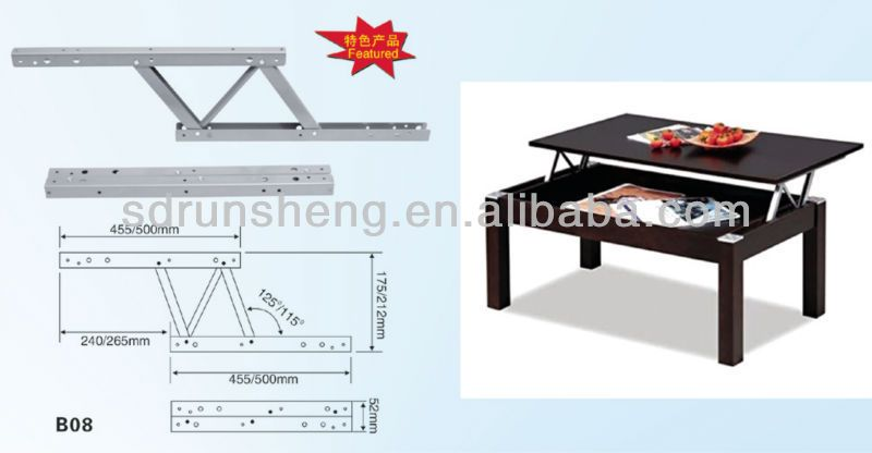 Table Top Lift System Folding Coffee Table Coffee Table Pop Up