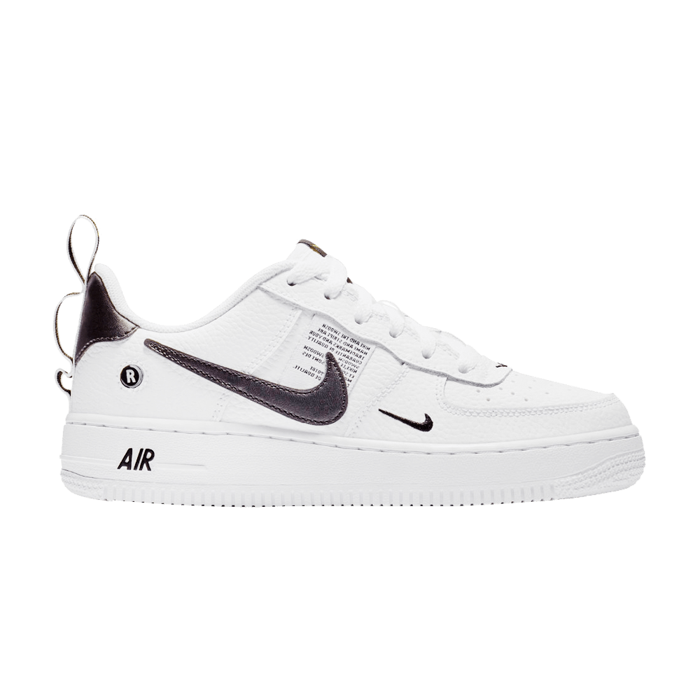 Air Force 1 Lv8 Utility Gs Overbranding Nike Ar1708 100 Goat Air Force Kids Shoes Nike