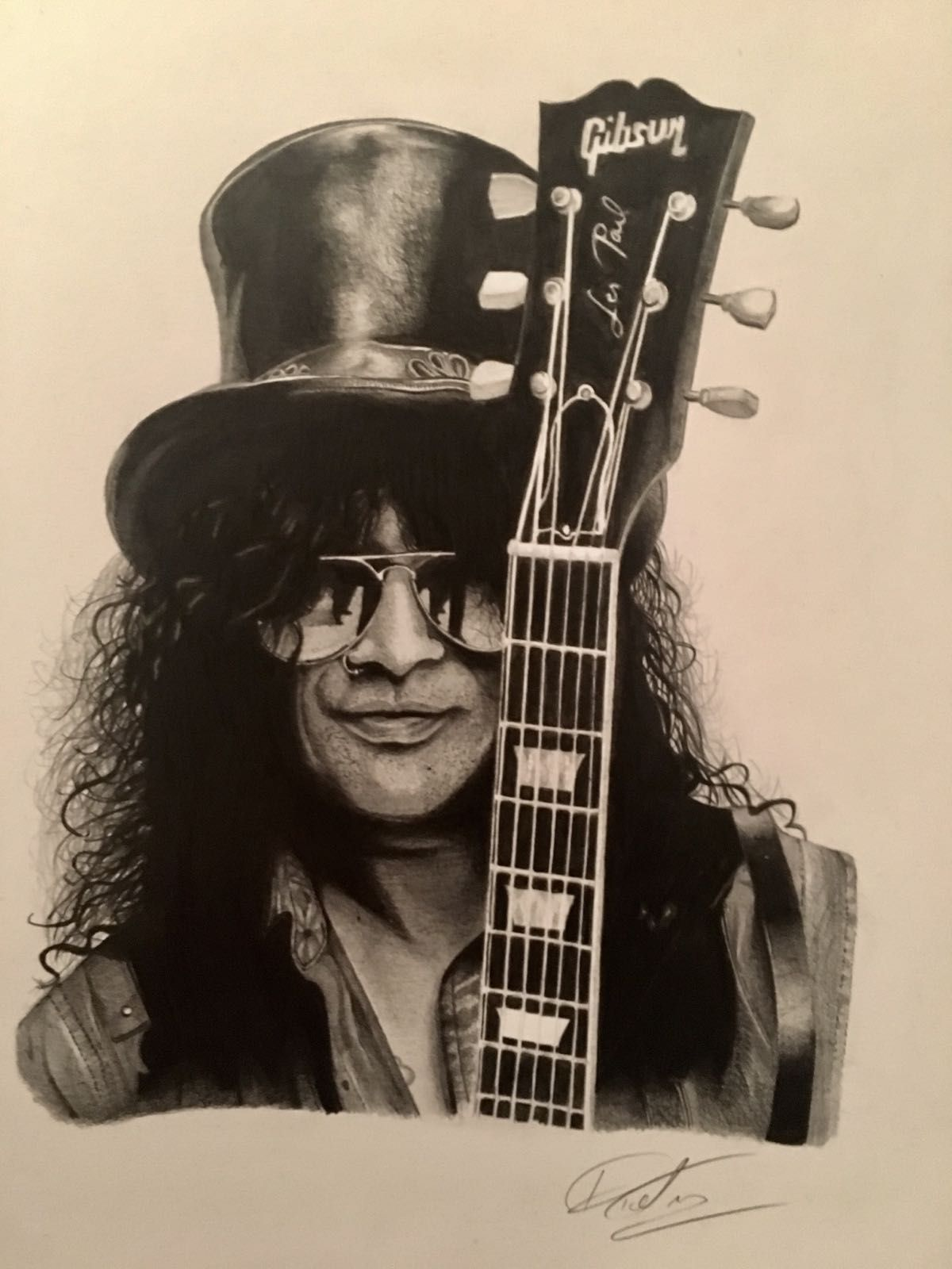 The amazing Slash of Guns N/' Roses Wall Art Graphic Art Poster