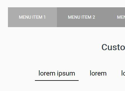 jQuery Plugin To Highlight Active Menu Item On Hover - hover