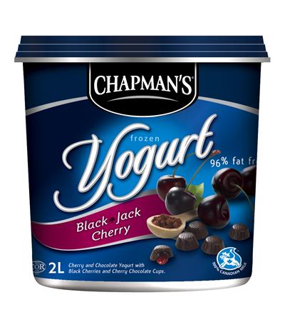 My new favourite treat. Chapman's ROCK!!! Frozen yogurt