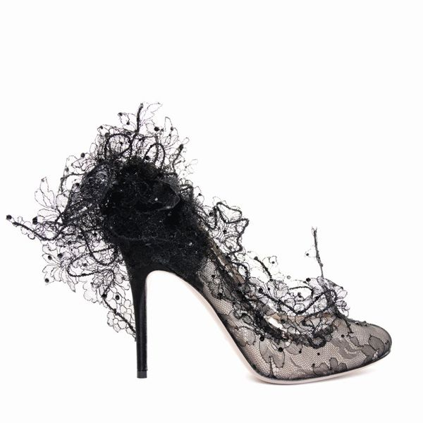 Valentino Couture Lace Shoes   Shoe