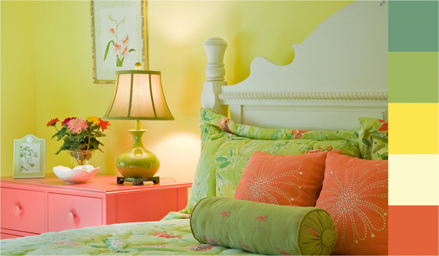 Este es un gran ejemplo de como combinar los tonos for Como combinar colores para una habitacion