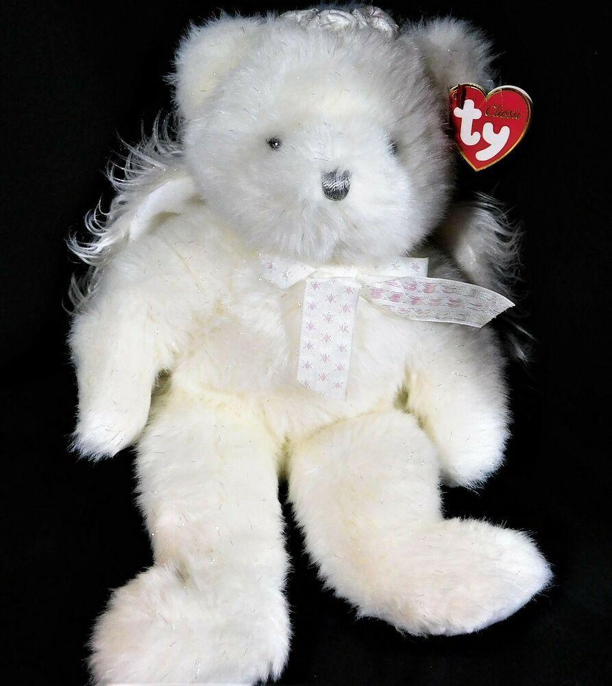 Classic Bear Ty Beanie Babies Winnie The Pooh Plush