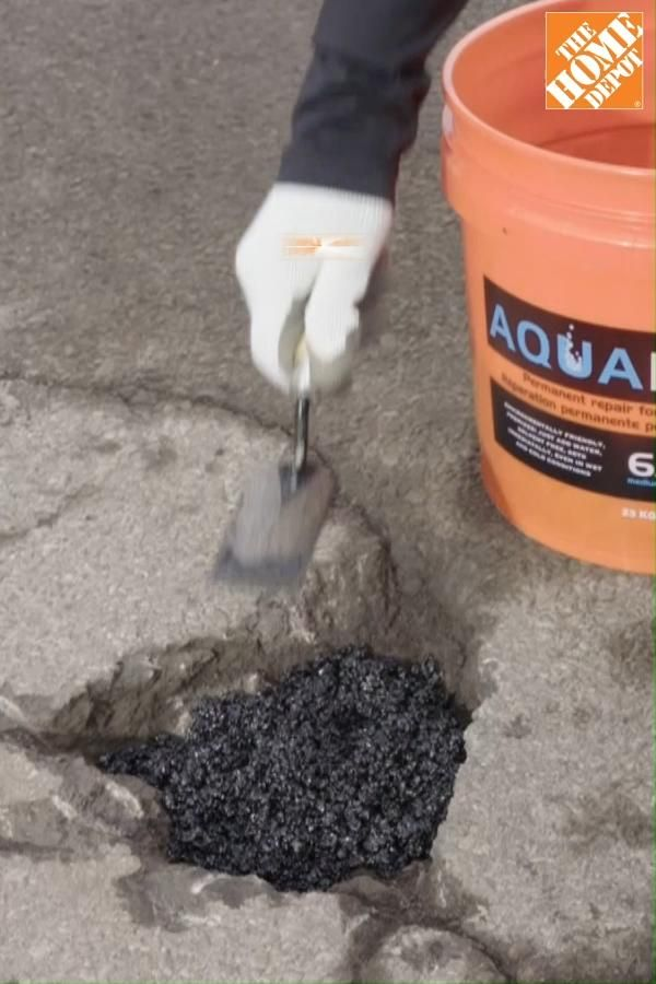 Easy pothole repair—a smooth way to make the most of your time at home