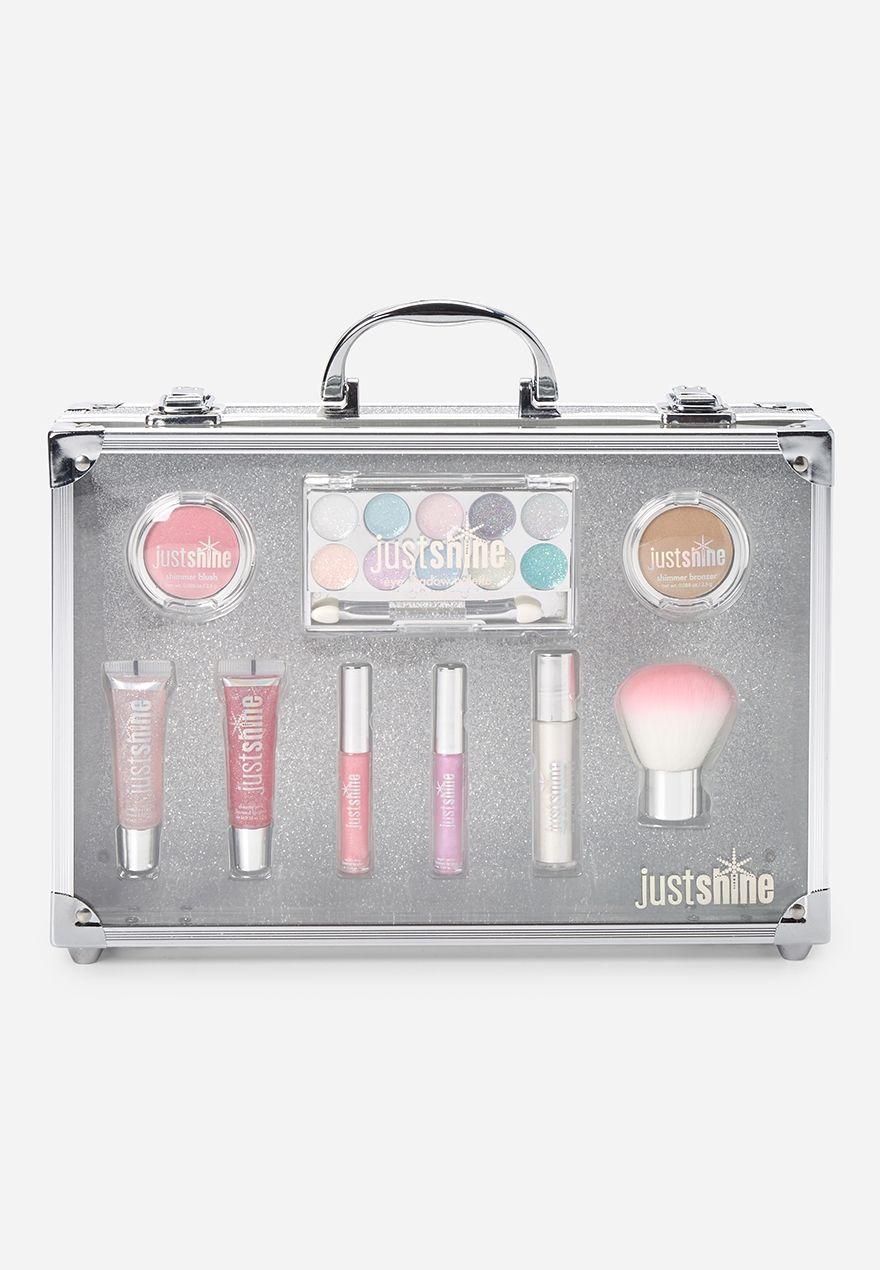 Silver Sparkle Deluxe Beauty Kit Makeup kit, Unicorn makeup