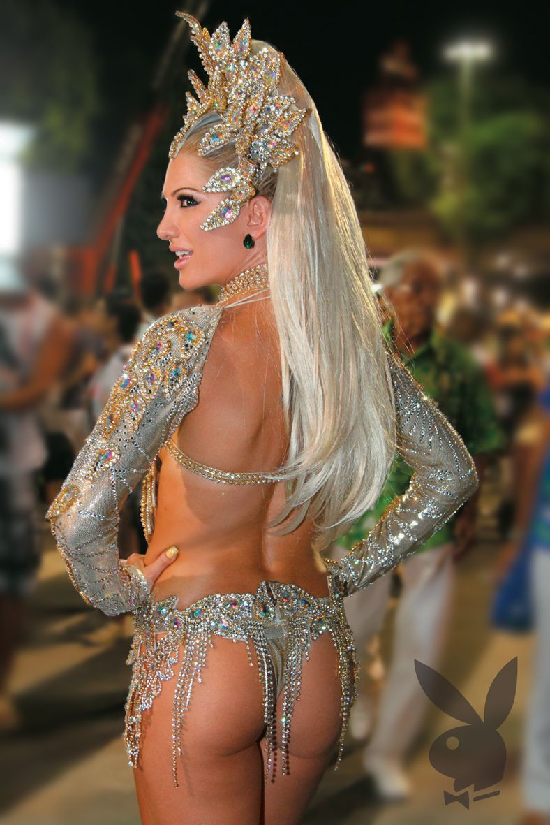 Carnaval Samba Dancer With A Pair Of Gorgeous Buns With Images